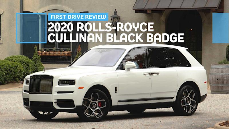 2020 Rolls-Royce Cullinan Black Badge: First Drive