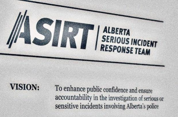 The Alberta Serious Incident Response Team said it has been directed to investigate following an officer-involved shooting that took place Saturday afternoon.  (ASIRT - image credit)