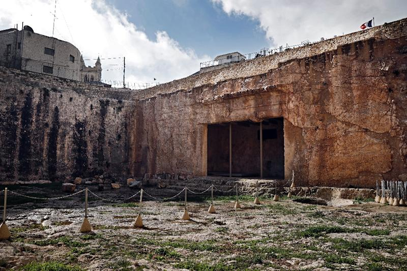 The Tomb of the Kings has been closed since 2010 due to renovations costing around $1.1 million (AFP Photo/THOMAS COEX)