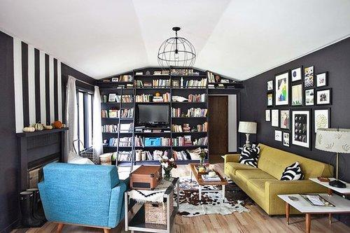 7 rooms that are black bold and beautiful for Furniture xo out of business
