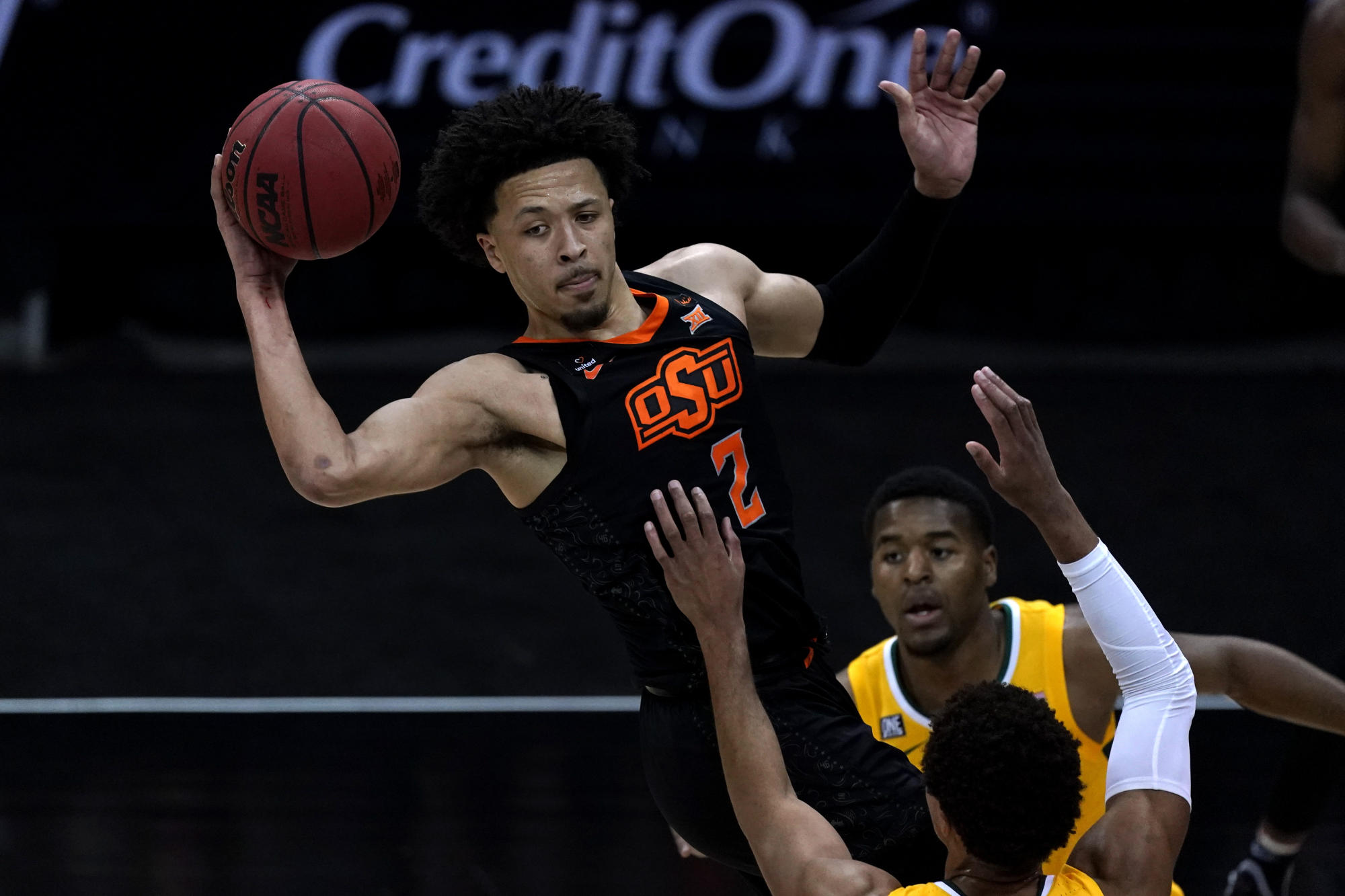 Cade Cunningham, Oklahoma State stun Baylor to reach Big 12 championship game - Yahoo Sports