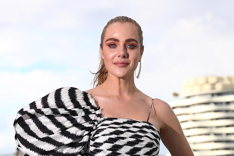 Jessica Marais has been spotted for the first time since being admitted to hospital on Saturday. Photo: Getty