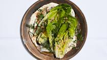 """<a href=""""https://www.bonappetit.com/recipe/little-gem-wedge-salad-with-tahini-ranch?mbid=synd_yahoo_rss"""" rel=""""nofollow noopener"""" target=""""_blank"""" data-ylk=""""slk:See recipe."""" class=""""link rapid-noclick-resp"""">See recipe.</a>"""