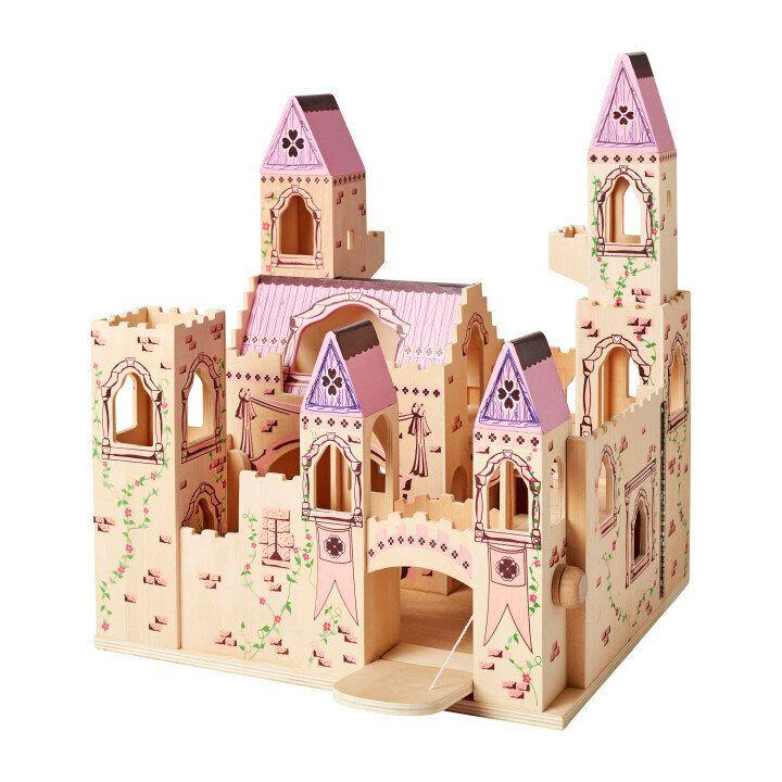 "Welcome, your Majesty! Decorated with regal accents, this wooden play castle is fully assembled and ready for royal play.&nbsp;<strong>Ages:</strong> 3+&nbsp;<strong>Get it at:</strong> <a href=""https://www.homesense.ca/en"" target=""_blank"" rel=""noopener noreferrer"">HomeSense</a>, $79.99 (in store only)"