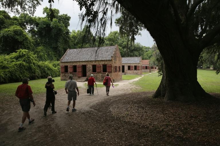 Historical sites near Charleston, South Carolina, such as Boone Hall Plantation, seen in 2015, could face damage as Hurricane Florence approaches the US East Coast