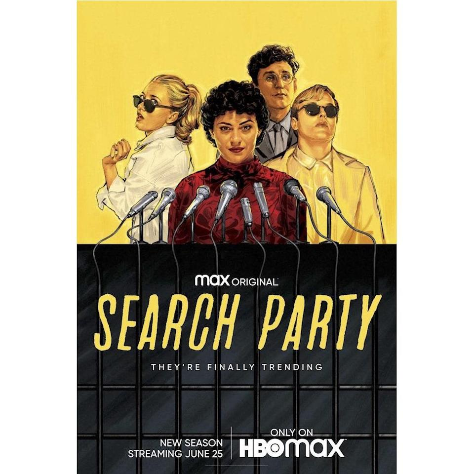 """<p>I don't know where or how my boyfriend discovered <em>Search Party</em> but oh my god, why have I been sleeping on this show for two seasons? I can't talk about any aspect of this show without revealing spoilers. But I will say you'll go through a rollercoaster of <a href=""""https://www.self.com/story/emotional-regulation-skills?mbid=synd_yahoo_rss"""" rel=""""nofollow noopener"""" target=""""_blank"""" data-ylk=""""slk:emotions"""" class=""""link rapid-noclick-resp"""">emotions</a> in each episode—from laughing to feeling scared to cocking your head thinking, """"Did Elliott REALLY just say that?"""" My friend got surgery this month and I told her to watch this show. Three days into it and she's already done the series. It's that good, people! —<em>Kenny Thapoung, associate director of audience development and distribution</em></p> <p><strong>Watch it</strong>: Free with subscription, <a href=""""https://www.hbomax.com/sp/?utm_id=sa%7C71700000068397517%7C58700006051439267%7Cp54806744194&gclid=EAIaIQobChMI6_mwiNL_6gIVRMDICh29EAhxEAAYASAAEgIH_fD_BwE&gclsrc=aw.ds"""" rel=""""nofollow noopener"""" target=""""_blank"""" data-ylk=""""slk:hbomax.com"""" class=""""link rapid-noclick-resp"""">hbomax.com</a></p>"""