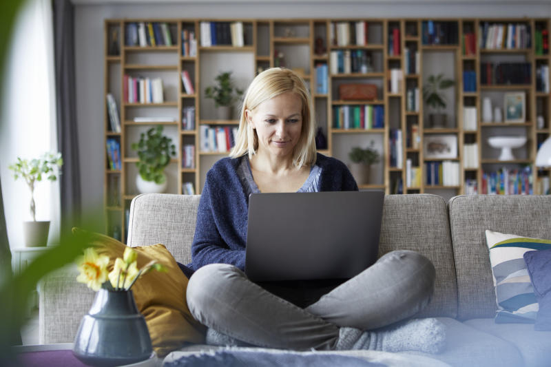Working from home might seem like the dream scenario, but there are some mental health factors to consider. [Photo: Getty]