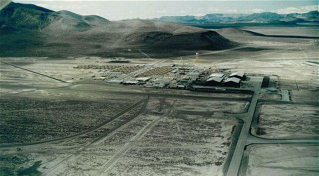 The restricted and secret Area 51. Source: Nevada Aerospace Hall of Fame