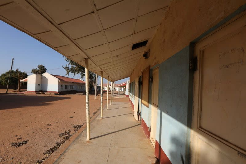 A view shows the Government Science school where gunmen abducted students, in Kankara