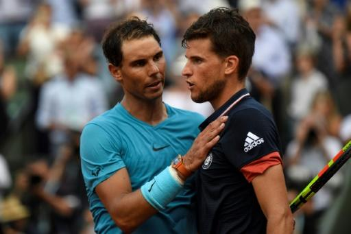Thiem battled hard but could never seriously threaten NadalMore