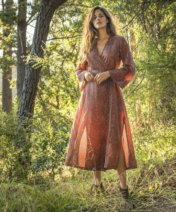 "<br><br><strong>Outerknown</strong> Rhiannon Wrap Dress, $, available at <a href=""https://go.skimresources.com/?id=30283X879131&url=https%3A%2F%2Fwww.outerknown.com%2Fproducts%2Frhiannon-wrap-dress-nutmeg-laurel%3Fvariant%3D29483528781847"" rel=""nofollow noopener"" target=""_blank"" data-ylk=""slk:Outerknown"" class=""link rapid-noclick-resp"">Outerknown</a>"