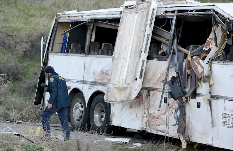 Bus in deadly Calif. crash cited for brake issues
