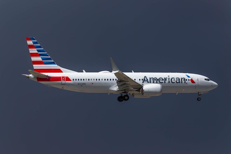 Boeing 737-8 MAX - American Airlines at Miami International Airport