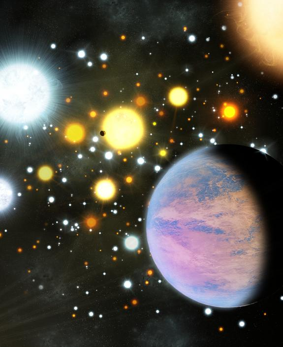 'Mini-Neptune' Alien Planets in Star Cluster Surprise Scientists