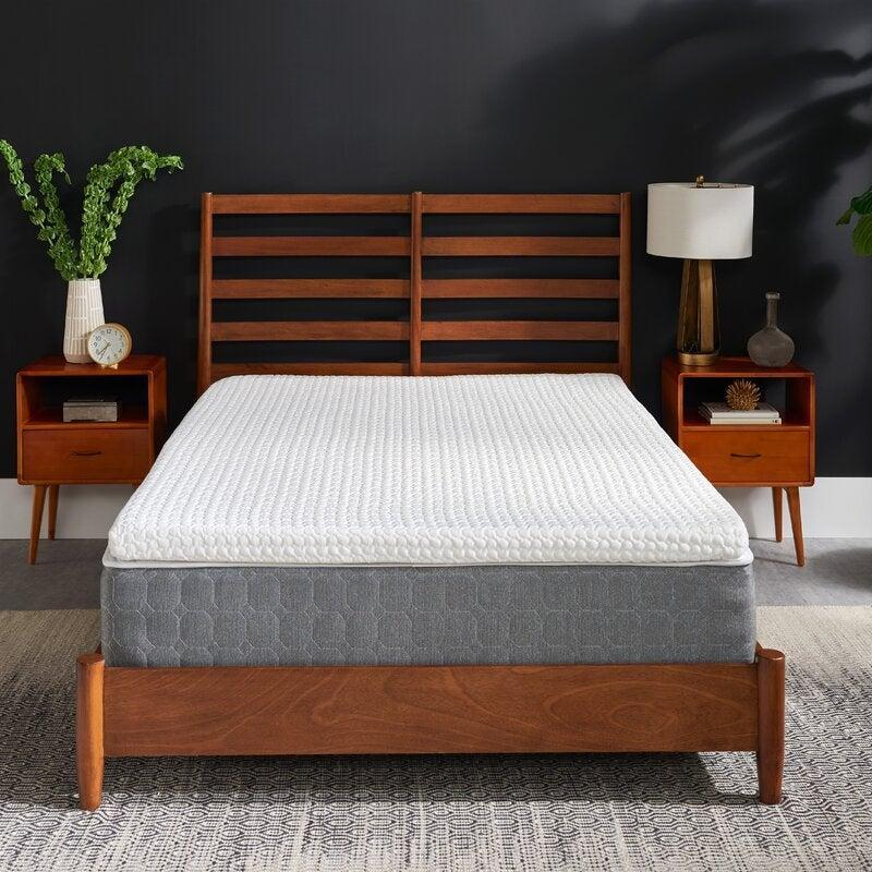 """<h2>Tempur-Pedic Memory Foam Mattress Topper</h2><br><strong>Deal: 36% off</strong><br>We can find Tempur-Pedic's plush and cozy products on multiple sites, but today, we're running to Wayfair for the best deals. This machine-washable mattress topper was designed to last for years, relieve built-up body pressure, and give your bed a major upgrade. <br><br>""""'I've bought mattress toppers before and typically am disappointed. This one actually felt good. I don't feel like my hip is pushing unduly into the mattress anymore. It feels cool to the touch. I don't toss and torn at night as much, and my dreams have become more vivid due to the better sleep. I highly recommend it. Maybe we all can't afford a Tempur-Pedic mattress, but this topper is a great option."""" — <em>Ellice, Wayfair Reviewer</em><br><br><br><em>Shop</em> <strong><em><a href=""""https://www.wayfair.com/brand/bnd/tempur-pedic-b37000.html"""" rel=""""nofollow noopener"""" target=""""_blank"""" data-ylk=""""slk:Tempur-Pedic"""" class=""""link rapid-noclick-resp"""">Tempur-Pedic</a></em></strong><br><br><strong>Tempur-Pedic</strong> Tempur-Adaptive Comfort 3"""" Memory Foam Mattress Topper, $, available at <a href=""""https://go.skimresources.com/?id=30283X879131&url=https%3A%2F%2Fwww.wayfair.com%2Fbed-bath%2Fpdp%2Ftempur-pedic-tempur-adaptive-comfort-3-memory-foam-mattress-topper-sbja1042.html"""" rel=""""nofollow noopener"""" target=""""_blank"""" data-ylk=""""slk:Wayfair"""" class=""""link rapid-noclick-resp"""">Wayfair</a>"""