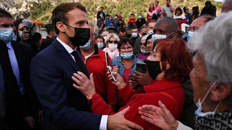 Macron pledges up to 1bn euros for France's storm-stricken disaster zones