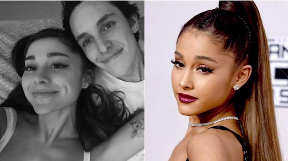 Ariana Grande is engaged to real estate agent Dalton Gomez