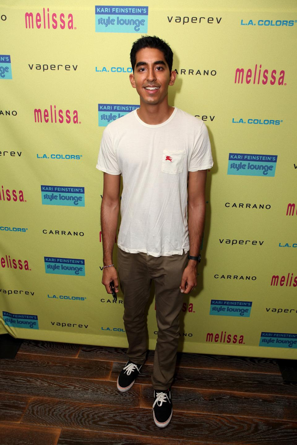 Patel at Kari Feinstein's Pre-Emmy Style Lounge at the Andaz Hotel in Los Angeles on Sept. 19, 2013.