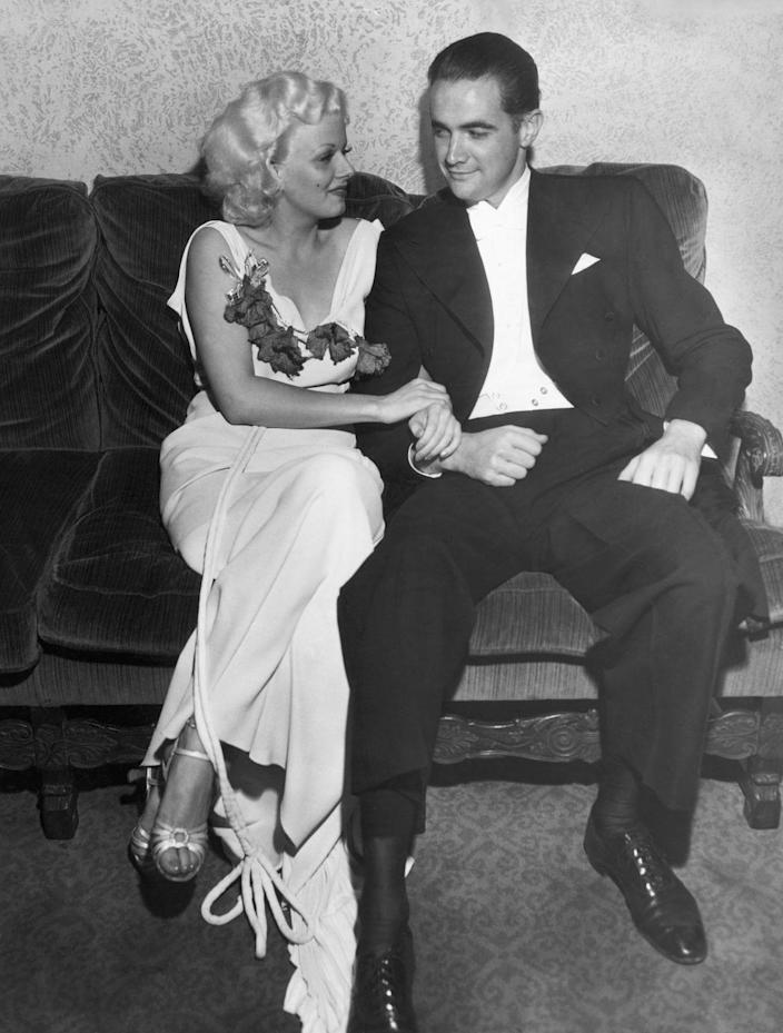 """<p>Jean Harlow was told that becoming a wife would alter her sex appeal, and, due to the morality clause in her contract with MGM, the studio was allowed to <a href=""""https://www.ranker.com/list/old-hollywood-studio/anncasano"""" rel=""""nofollow noopener"""" target=""""_blank"""" data-ylk=""""slk:deny her marriage to William Powell"""" class=""""link rapid-noclick-resp"""">deny her marriage to William Powell</a>. </p>"""