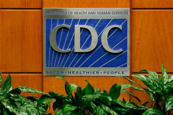 PHOTO: A podium shows the logo for the Centers for Disease Control and Prevention at the Tom Harkin Global Communications Center on Oct. 5, 2014, in Atlanta. (Kevin C. Cox/Getty Images)