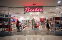 A Bata store is pictured in Abuja