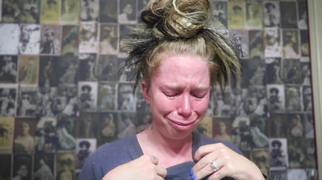 Bunny Meyer opens up about lying to subscribers. (Photo: YouTube/grav3yardgirl)
