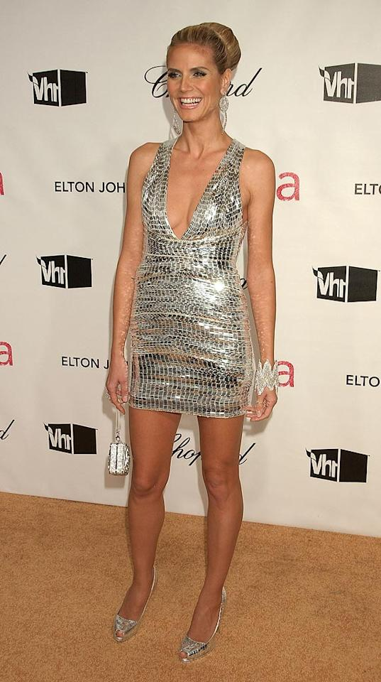 "<a href=""http://movies.yahoo.com/movie/contributor/1804328244"">Heidi Klum</a> attend the 16th Annual Elton John AIDS Foundation Oscar Party at the Pacific Design Center in West Hollywood - 02/24/2008"
