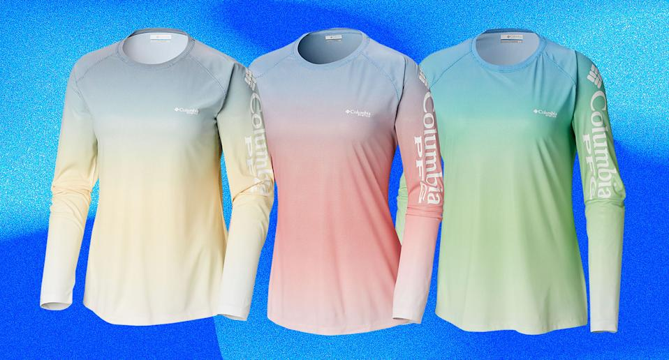 UPF clothing can add an extra layer of sun protection this summer, shop stylish version like this Columbia shirt (Photo: Columbia, Art: Yahoo Lifestyle photo-illustration)
