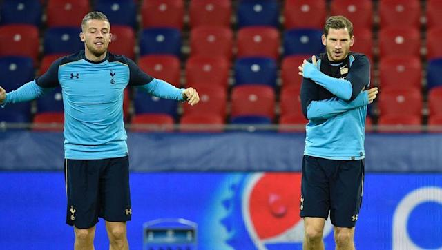 <p>Back three: <strong>Toby Alderweireld, Jan Vertonghen and Eric Dier</strong></p> <br><p>Spurs manager Mauricio Pochettino has varied with his preferred formation, with the versatility of Eric Dier allowing him to drop back into a back three when needed. The Belgian duo of Toby Alderweireld and Jan Vertonghen are arguably the best defensive pairing in the Premier League, with the North London club conceding the least amount of goals this season.</p> <br><p>Average goals conceded per game:<strong> 0.7</strong></p>