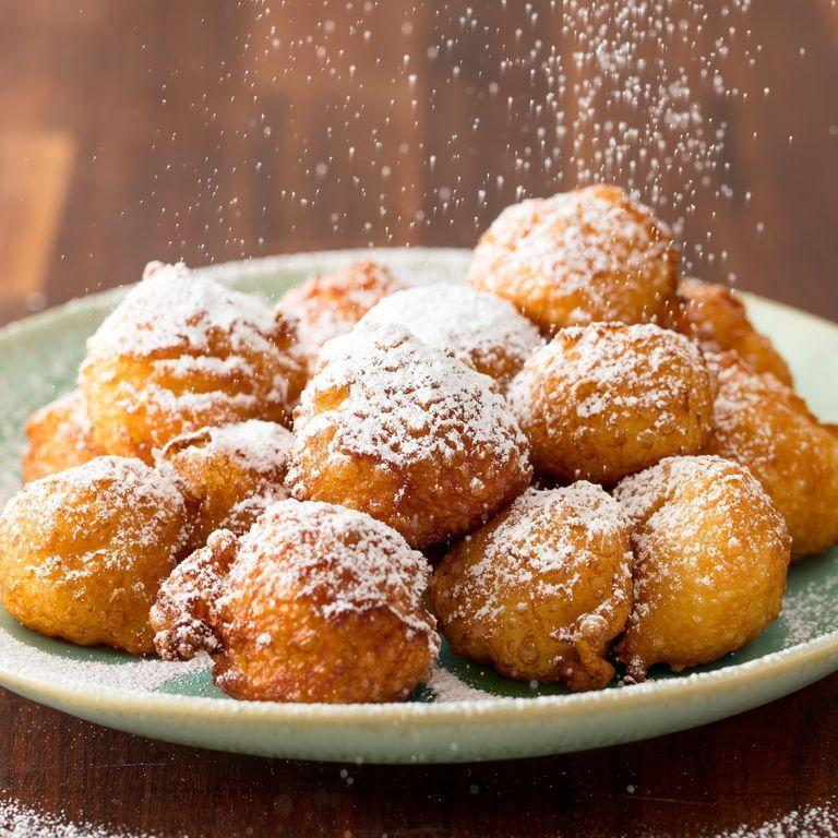 """<p>These bites of fluffy fried dough coated in powdered sugar are totally worth the trip to New Orleans, but easier (and delicious!) to make at home.</p><p><em><a href=""""https://www.delish.com/cooking/recipe-ideas/a19464801/easy-beignets-recipe/"""" rel=""""nofollow noopener"""" target=""""_blank"""" data-ylk=""""slk:Get the recipe from Delish »"""" class=""""link rapid-noclick-resp"""">Get the recipe from Delish »</a></em></p>"""
