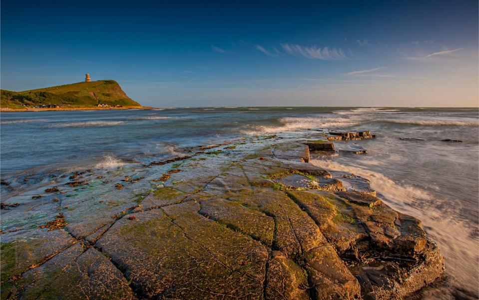 The coast near Kimmeridge Bay - getty