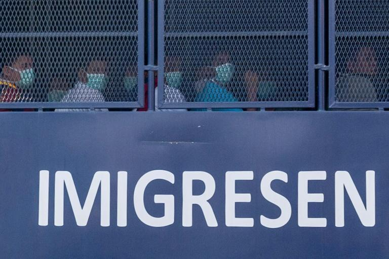 Officials insist those being sent back have committed offences such as overstaying their visas