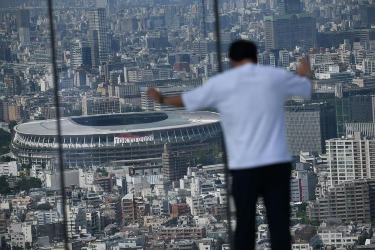 Tokyo's National Stadium will be the main venue for the delayed 2020 Olympics
