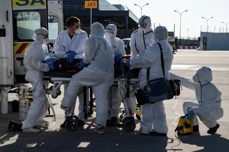 Europe has suffered the worst of the coronavirus pandemic, with more than 45,000 deaths so far (AFP Photo/BERTRAND GUAY)