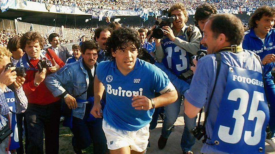 Photo credit: Maradona