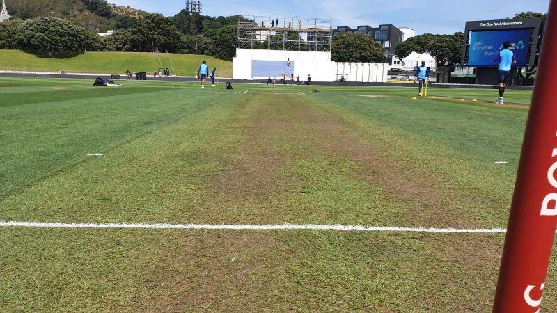 The pitch in Wellington