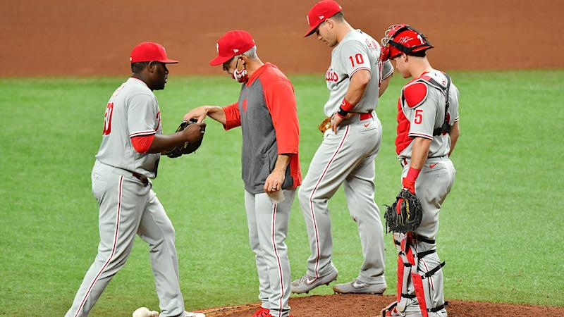 Phillies playoff hopes on life support after a familiar looking loss