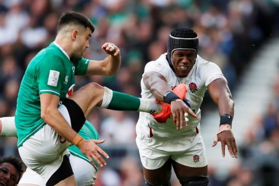 Maro Itoje in action for England (Action Images via Reuters)