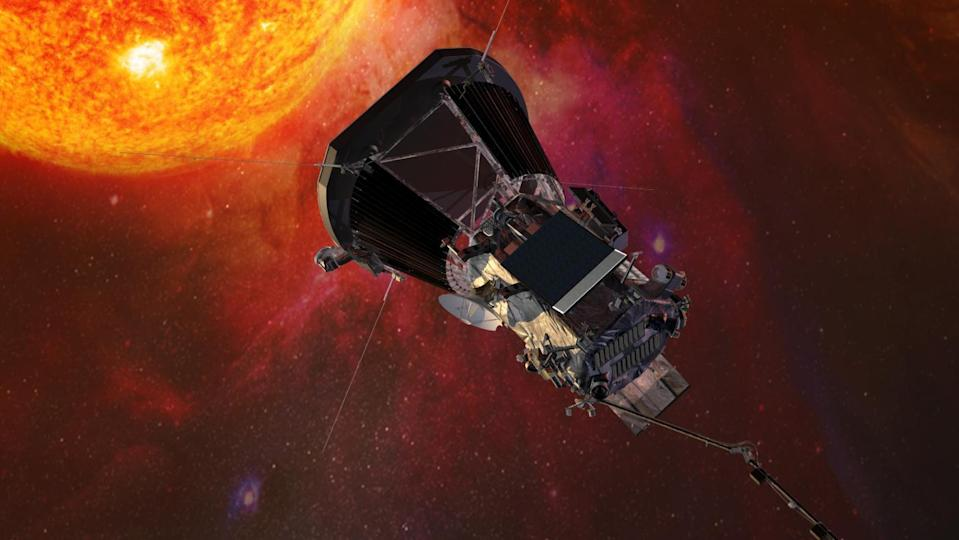 The Parker Solar Probe is going to be the first spacecraft to fly into the million-degree surface of the sun, it's corona (NASA)