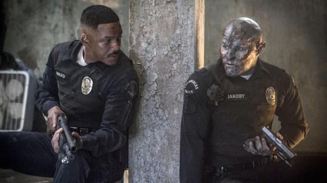 Will Smith and Joel Edgerton in <em>Bright</em>. (Photo: Netflix)