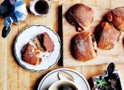 """Yes, the dough is buttery, but replacing the brown sugar with puréed dates is a nutritional game-changer. <a href=""""https://www.bonappetit.com/recipe/cinnamon-date-buns?mbid=synd_yahoo_rss"""" rel=""""nofollow noopener"""" target=""""_blank"""" data-ylk=""""slk:See recipe."""" class=""""link rapid-noclick-resp"""">See recipe.</a>"""