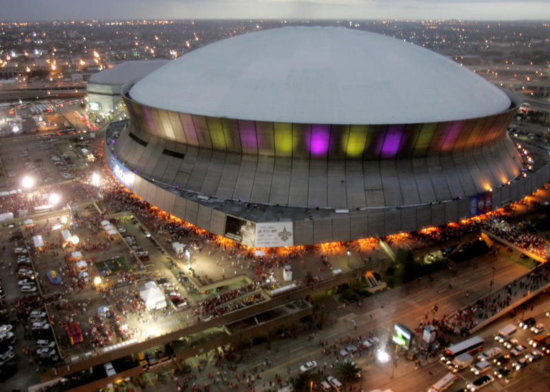 Superdome Renovations Football
