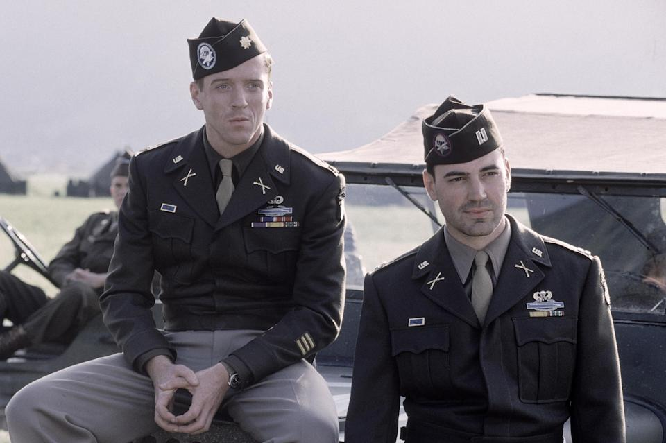 Damian Lewis and Ron Livingston star in HBO'S Band Of Brothers (HBO)