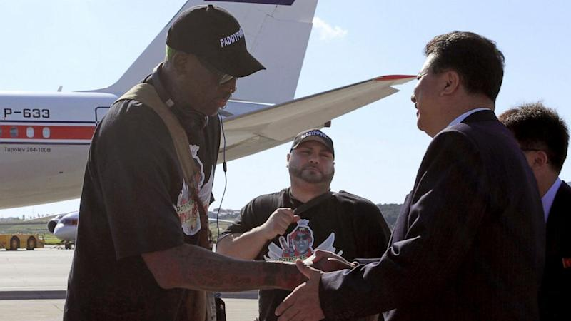Dennis Rodman Is Best Hope for American Jailed in North Korea, Family Says