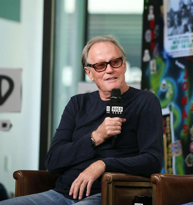 Peter Fonda attends Build Series on June 12, 2018, in New York. (Photo: Rob Kim/Getty Images)