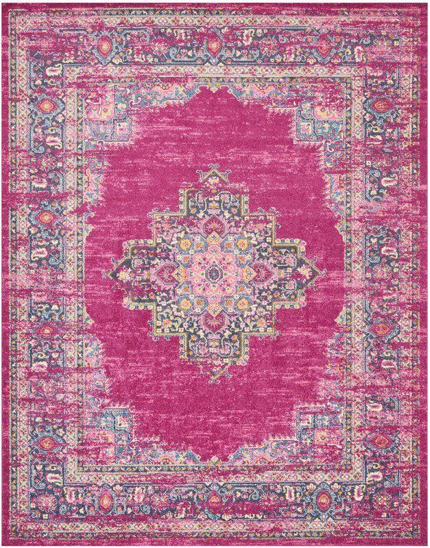 "<p>This colorful rug is making our affordable Persian apartment dreams come true.</p><br><br><strong>Mercury Row</strong> Dorset Oriental Fuchsia Area Rug, $153.99, available at <a href=""https://www.wayfair.com/rugs/pdp/mercury-row-dorset-oriental-fuchsia-area-rug-mcrw6631.html"" rel=""nofollow noopener"" target=""_blank"" data-ylk=""slk:Wayfair"" class=""link rapid-noclick-resp"">Wayfair</a>"