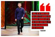 """<p><strong>Thakoon Panichgul, Designer</strong> <em>(Photo: Getty Images) </em> """"I will be in Hong Kong for Lunar New Year! It's always fun because coming off of the other new year, it's like the celebration gets extended. I'm not Chinese, I'm Thai and my mom who believes in Thai superstitions always says for any New Year, you should not sweep the apartment on New Year's Day because you don't want to sweep away luck. And I do listen to her on this one. I was having lunch in Hong Kong and all of a sudden there was a huge roar and human dancing dragons came in and created such an exciting ruckus. It was very spontaneous, festive, and joyful."""" </p>"""