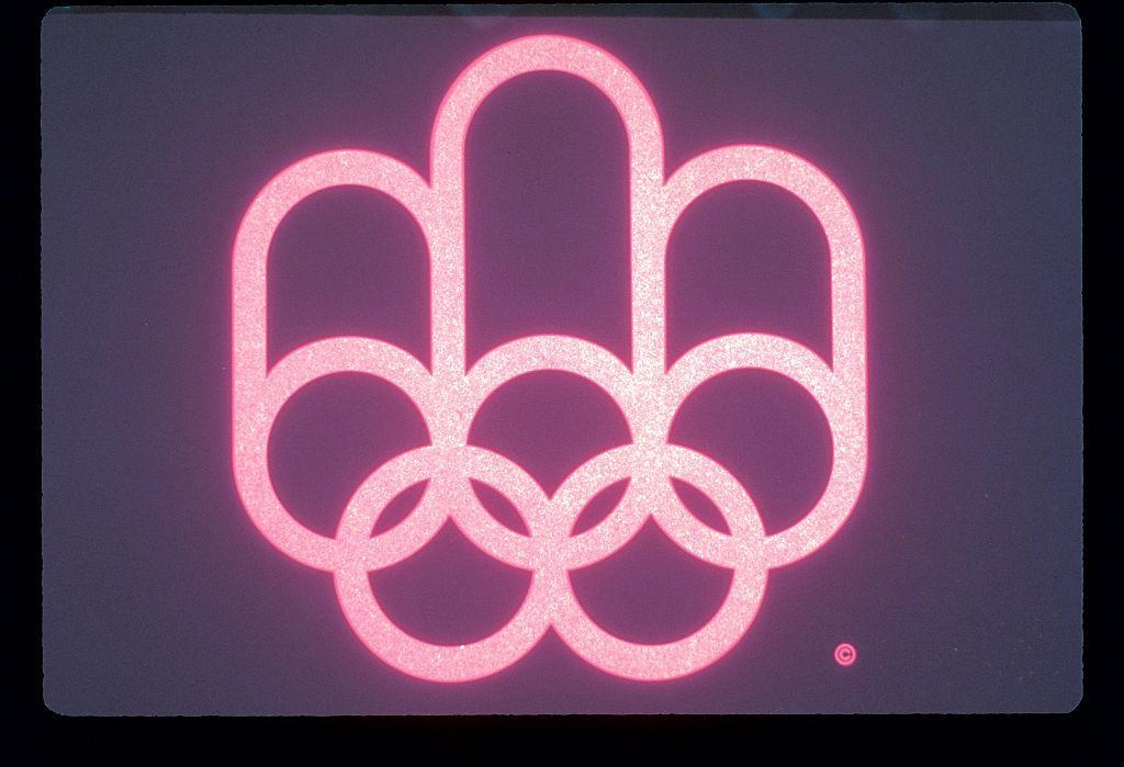 ABC SPORTS - 1976 SUMMER OLYMPICS - The 1976 Summer Olympic Games aired on the ABC Television Network from July 17 to August 1, 1976. (Photo by ABC Photo Archives/ABC via Getty Images) OLYMPIC RINGS SYMBOL