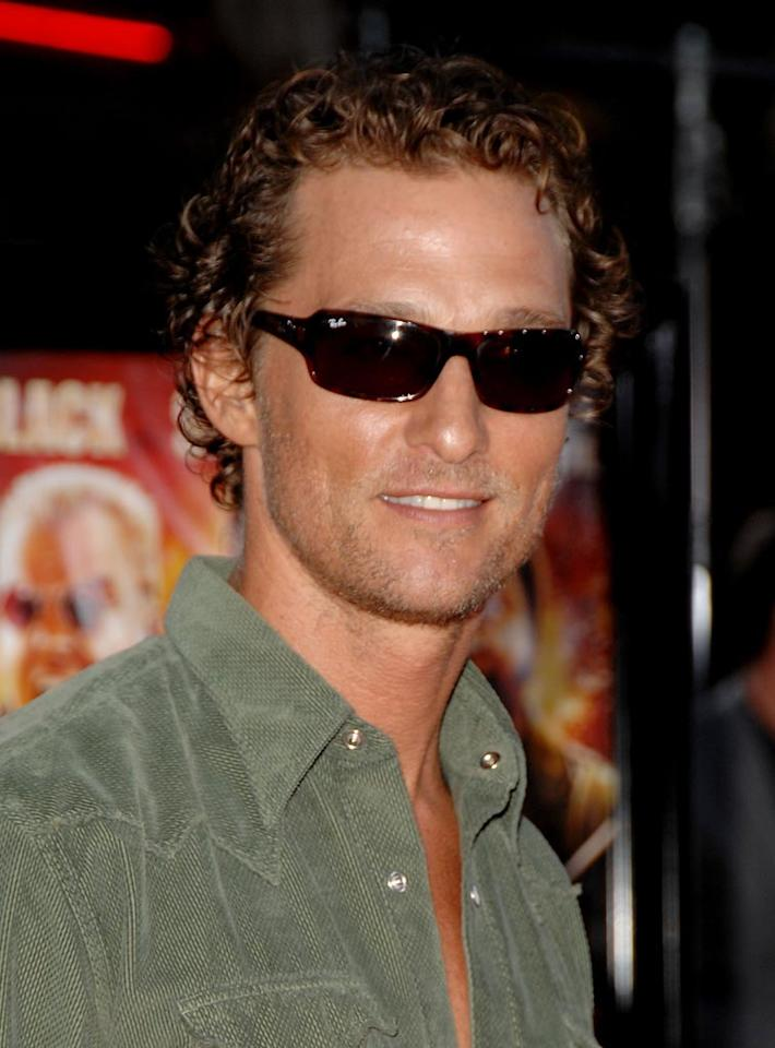 "<a href=""http://movies.yahoo.com/movie/contributor/1800018907"">Matthew McConaughey</a> at the Los Angeles Premiere of <a href=""http://movies.yahoo.com/movie/1809912814/info"">Tropic Thunder</a> - 08/11/2008"