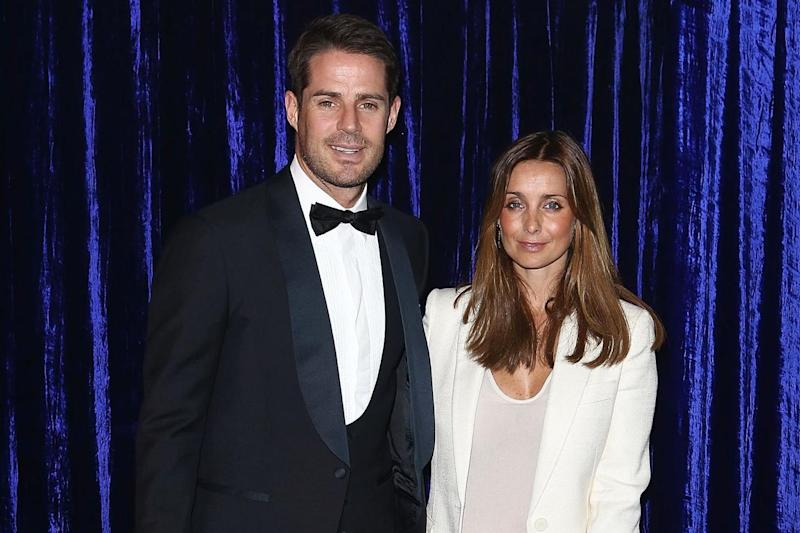 Exes: Jamie and Louise Redknapp split in 2017 (Getty Images)